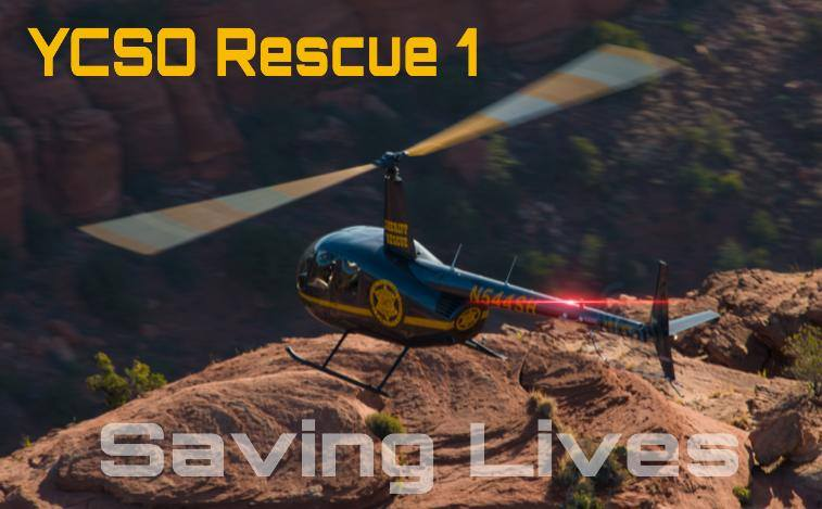 YCSO Rescue 1 Helicopter donated by Guidance Aviation