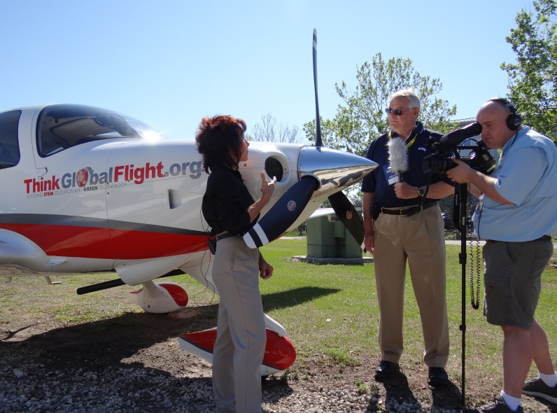 AOPA interview with Judy Rice of Think Global Flight