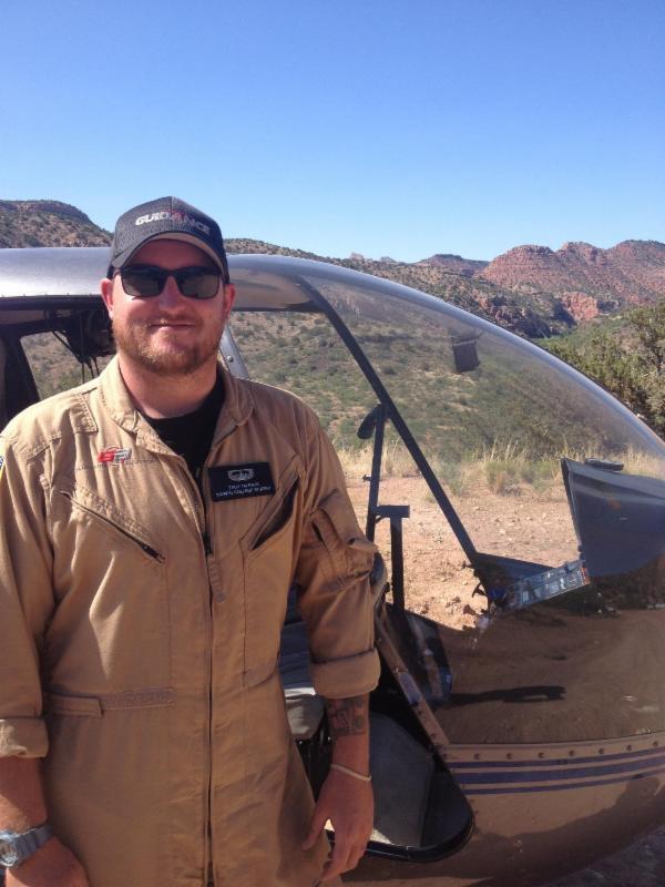 Zach Talraas Army Veteran Helicopter Flight Student Guidance Aviation