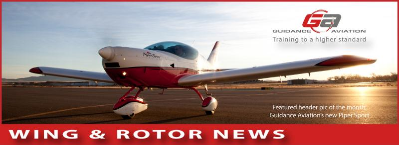 """Guidance Aviation Quarterly News """"Wing and Rotor"""" June 2011"""