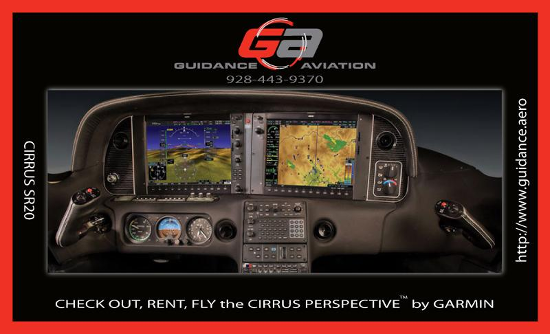 Guidance Aviation's Cirrus SR20 with Garmin Perspective