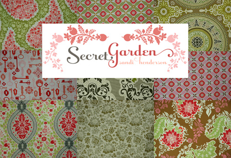 Sandi Henderson Fabric Collage