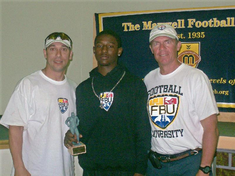 Wayne Lyons Shone in Miami with FBU Instructors Bo Orlando (l) and Bill Renner (r)