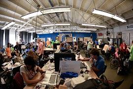 Bay Area Makeathon workspace