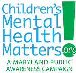 Logo for childrens_s mental health matters A Maryland Public Awareness Campaign