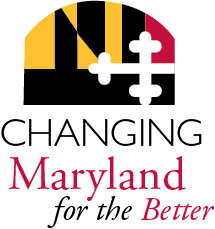 State flag and changing Maryland for the better logo