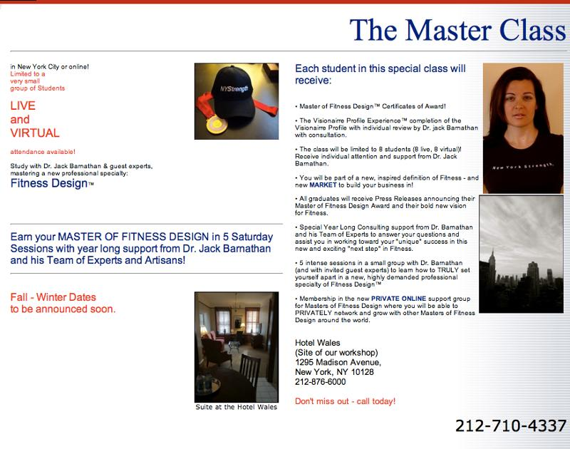 Master Class 2013