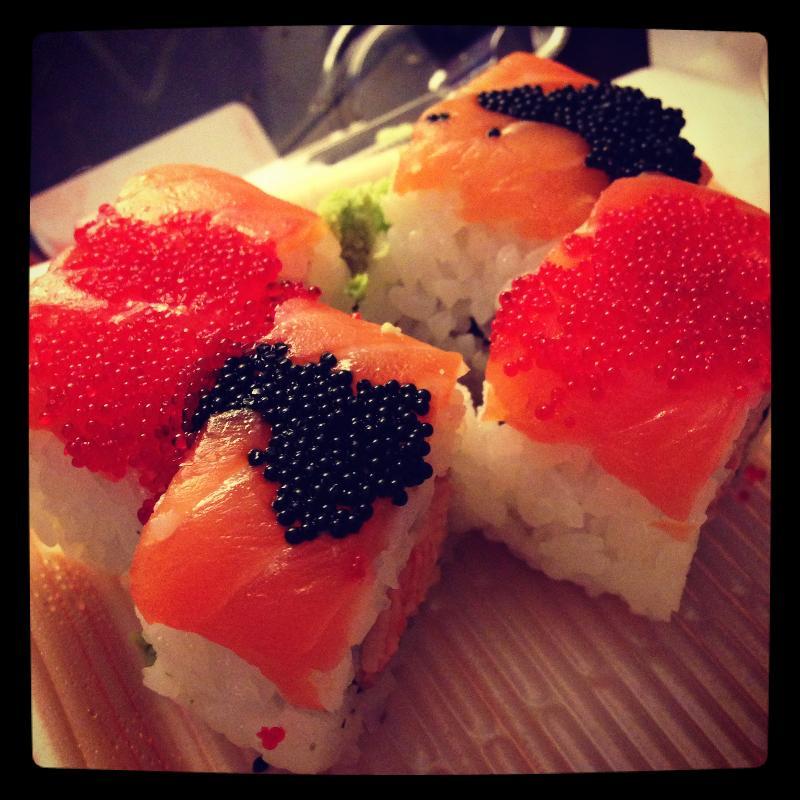 Sushi at Dean & Deluca