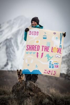 Shred The Love // B4BC Team Rider Kimmy Fasani