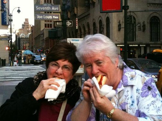 Ruth Light and Margaret Auer in NYC