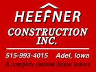 Heefner Construction Adel IA