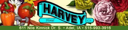 Harvey Floral Co. - Adel Iowa