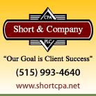 Short & Company, CPA, P.L.C. - Adel IA