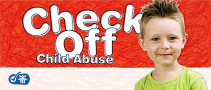 Check Off Child Abuse