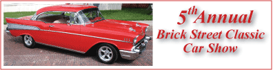 Brick Street Classic Car Show in Adel IA