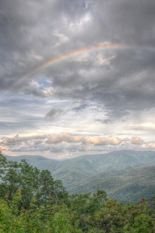 Rainbow - credit Jeff Burcher