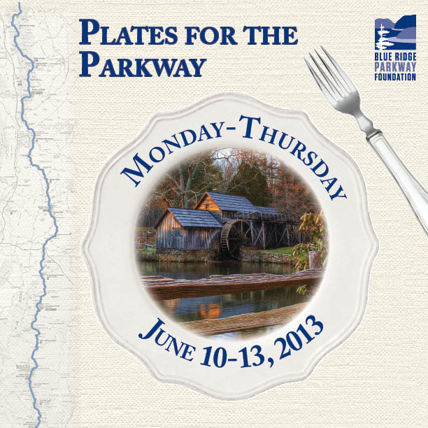 2013 Plates for the Parkway logo