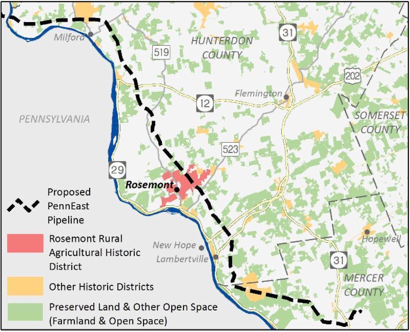 Rosemont map