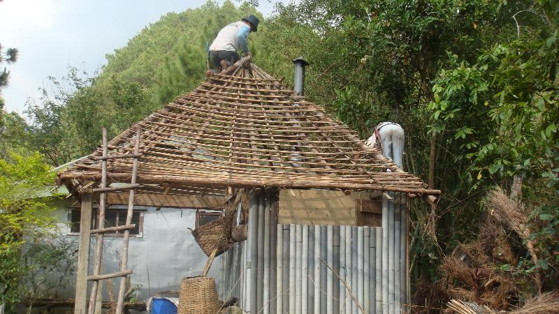 Installing new roof on CR