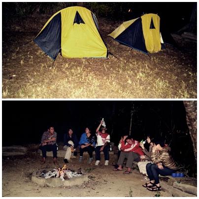 camping at ENCA