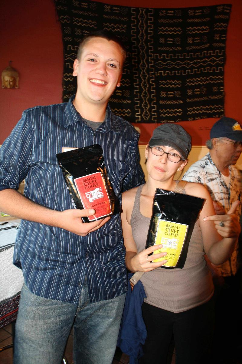 Civet Coffee Winners ENCA Event 2012