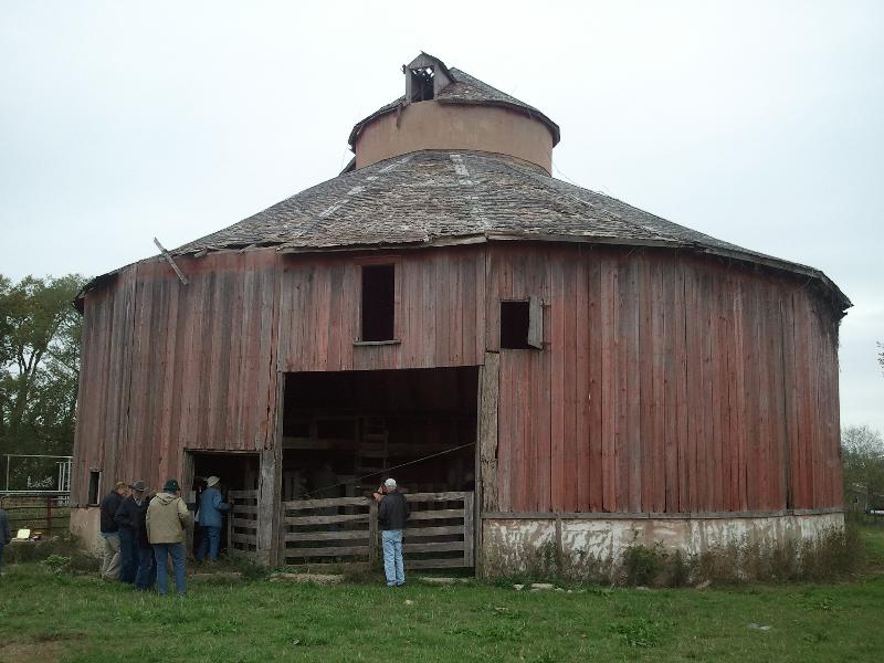 Labette Co. Round barn