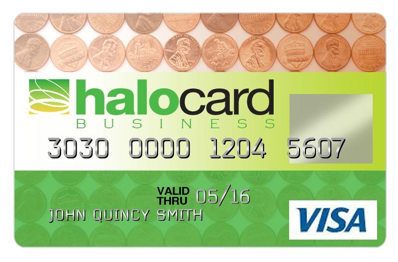 HaloCard Plastic - Green