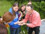 Joe Sheldon with Students 2010