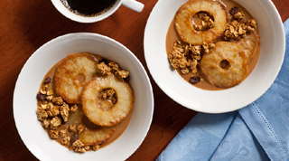 Chai-Peanut Butter Apple Breakfast