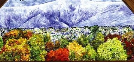 bert weiss glass painting
