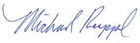 Michael Ruppal's Signature