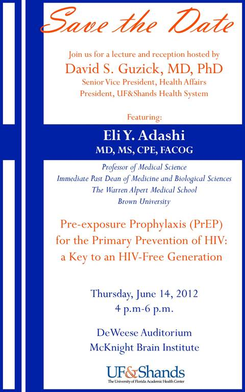 Save The Date 6-14-2012 @ UM