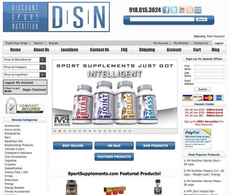 DSN Online Site