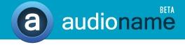 audioname logo
