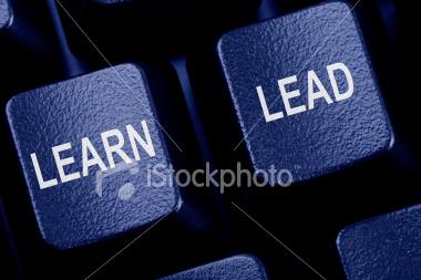 Keyboard keys-learn and lead