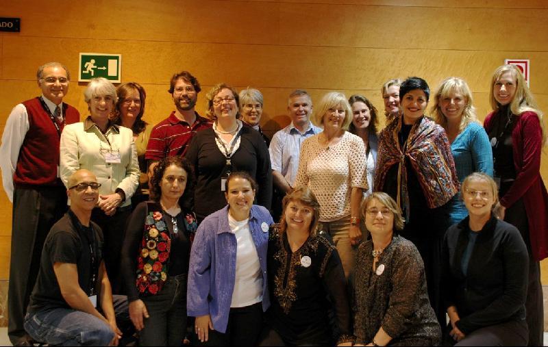 Participants in CD Facilitator Training Granada Spain