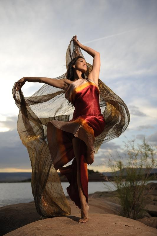 Rulan Tangen - Dancing Earth (Photo Credit: Joe McNally)