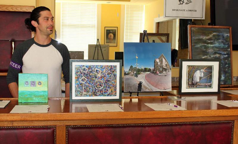 DOD art auction