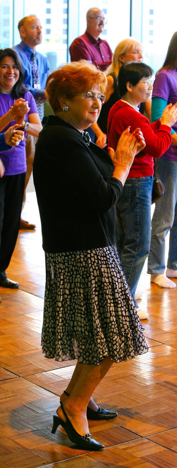 Mom on the dance floor