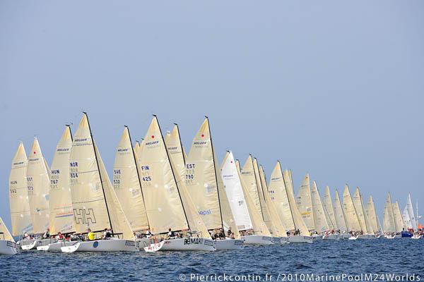2010 Marinepool Melges 24 Worlds 2010 - Pierrick Contin