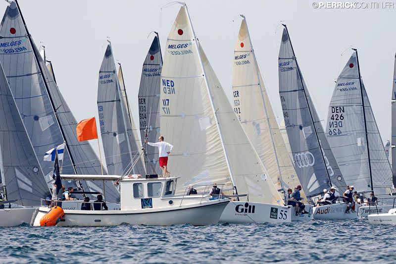 Melges 24 World Championship 2015 - Day 5 (c) Pierrick Contin / IM24CA