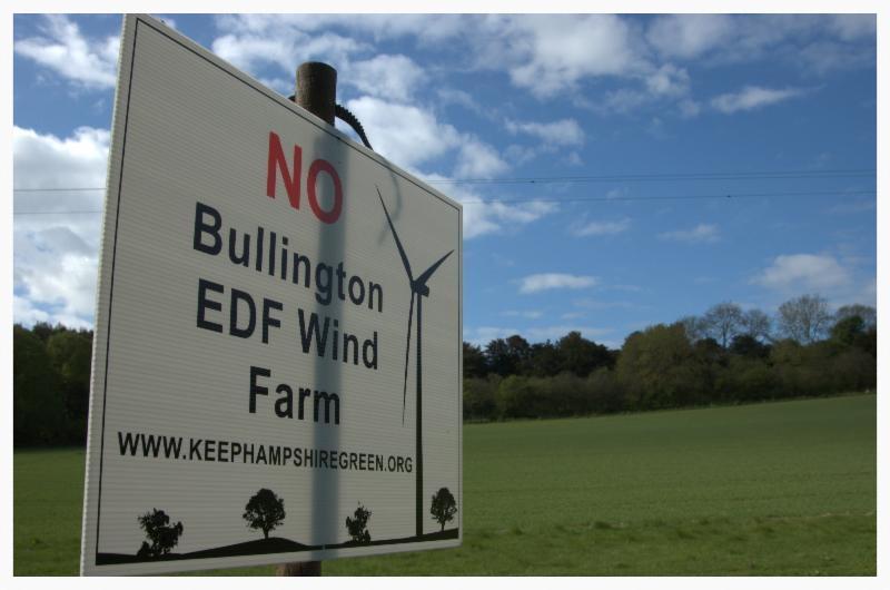 Wind turbine campaign