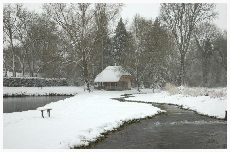 The Mill in snow Jan 2013