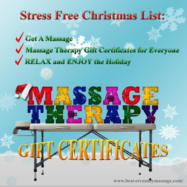 Massage Therapy Christmas Gifts
