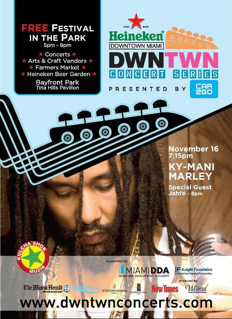 Free Concert Miami, November 2012