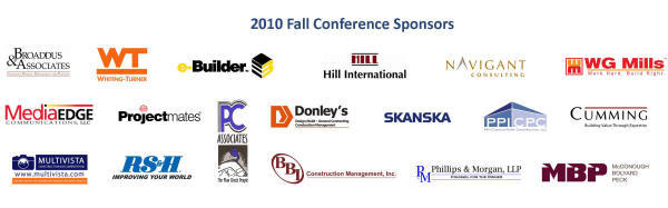 10B sponsor logos as of 10/18/2010