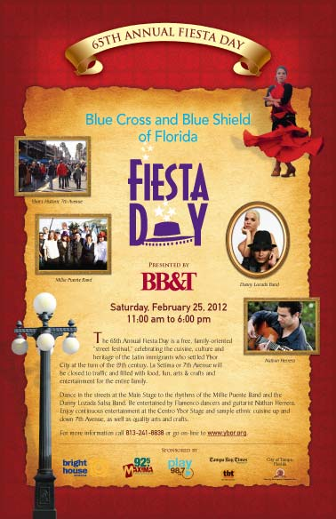 2012 Fiesta Day poster
