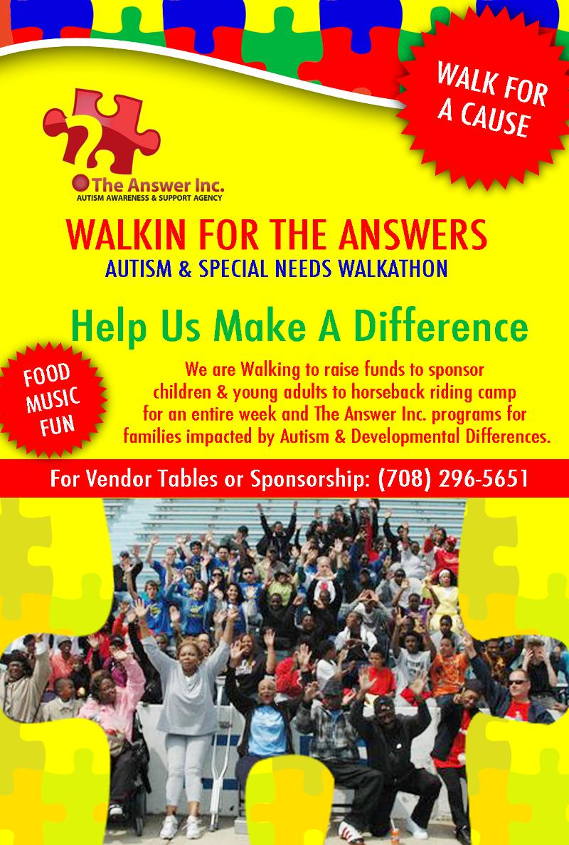 The Answer_Walk-a-thon