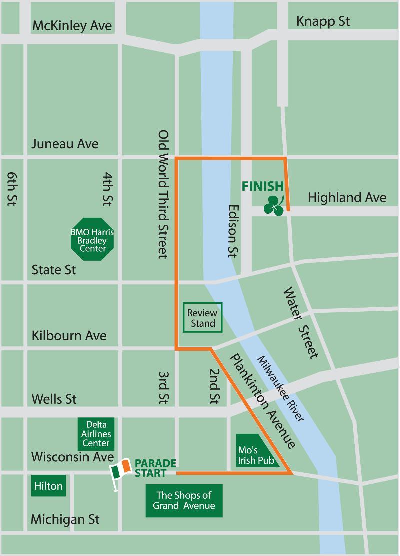 2013 parade map