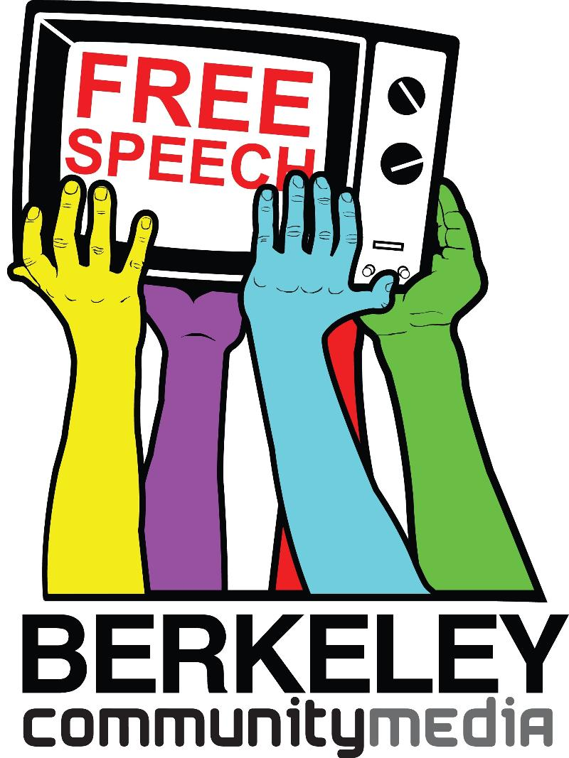 berkeley community media logo